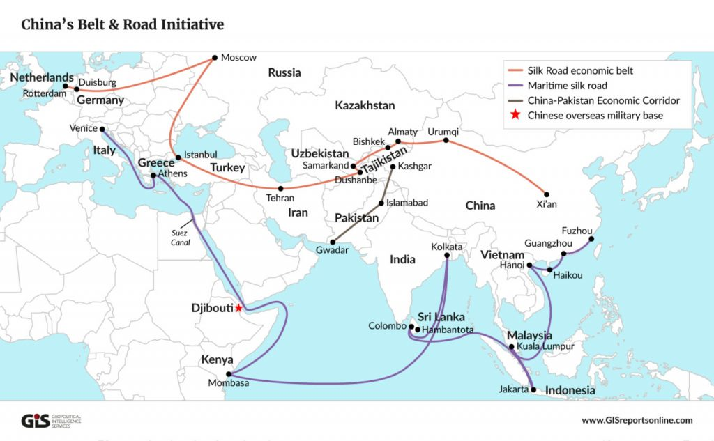 Indo-Pacific domination of the US and China's response